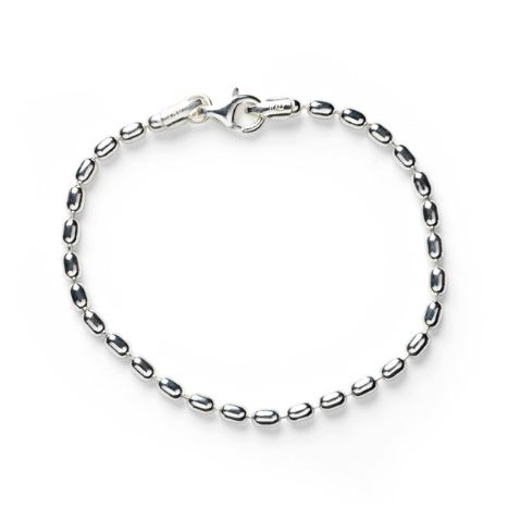 Southern Gates 3mm Rice Bead Bracelet by Southern Gates