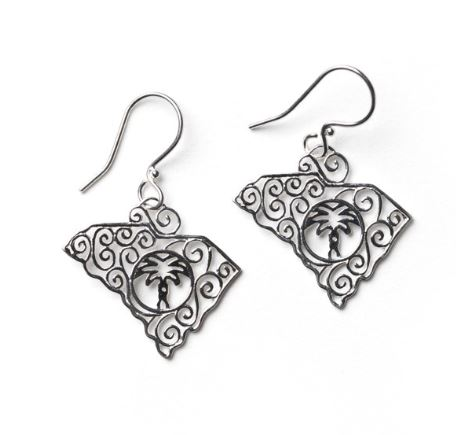Southern Gates South Carolina State Earring by Southern Gates